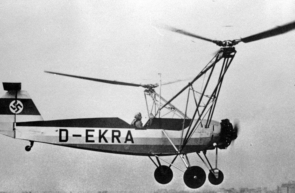 Da Vinci unistusest Hitleri päästjani: kuidas sündis helikopter