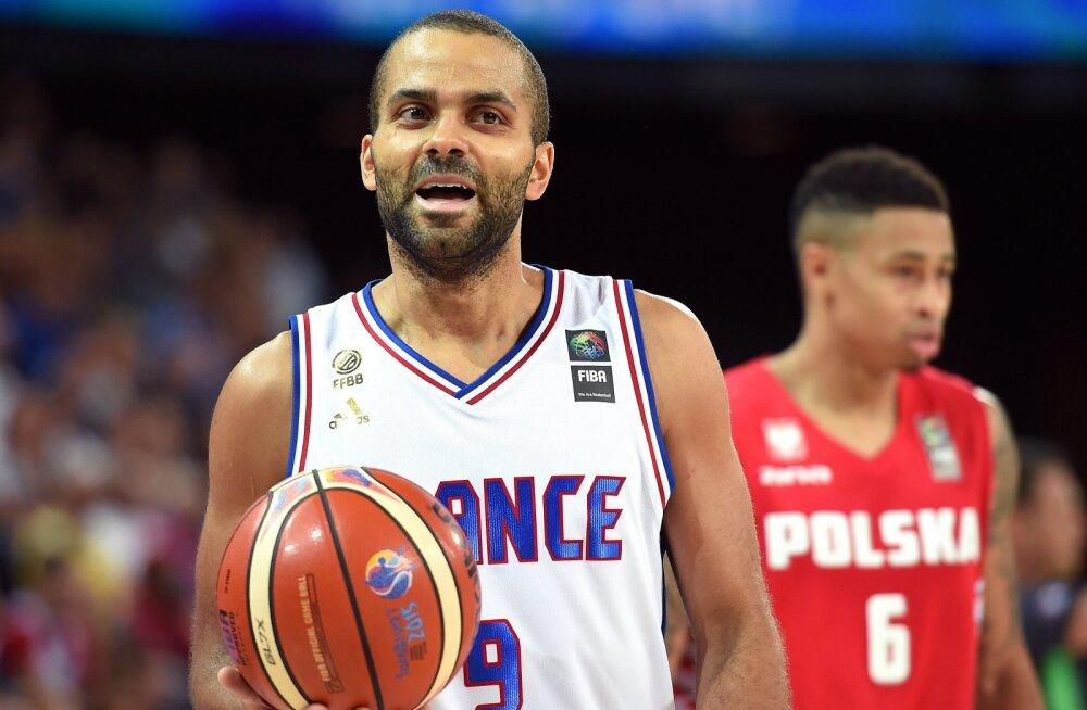 Prantsusmaa liider Tony Parker