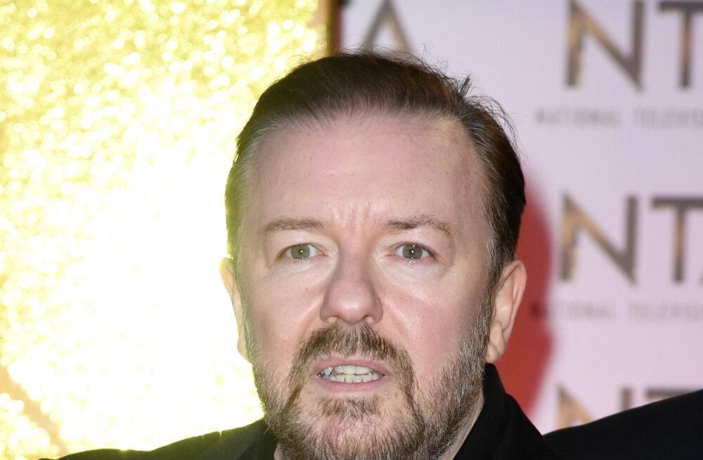 Briti koomik Ricky Gervais kaotas olulise pereliikme: puhka rahus