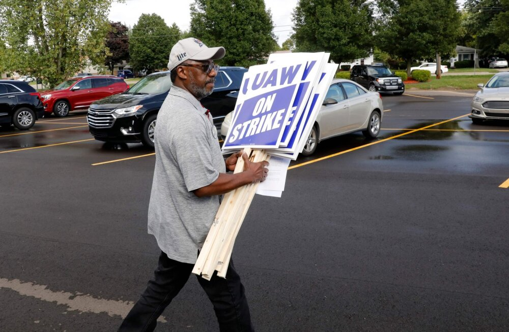 General Motorsi töötajad alustavad USAs suurstreiki