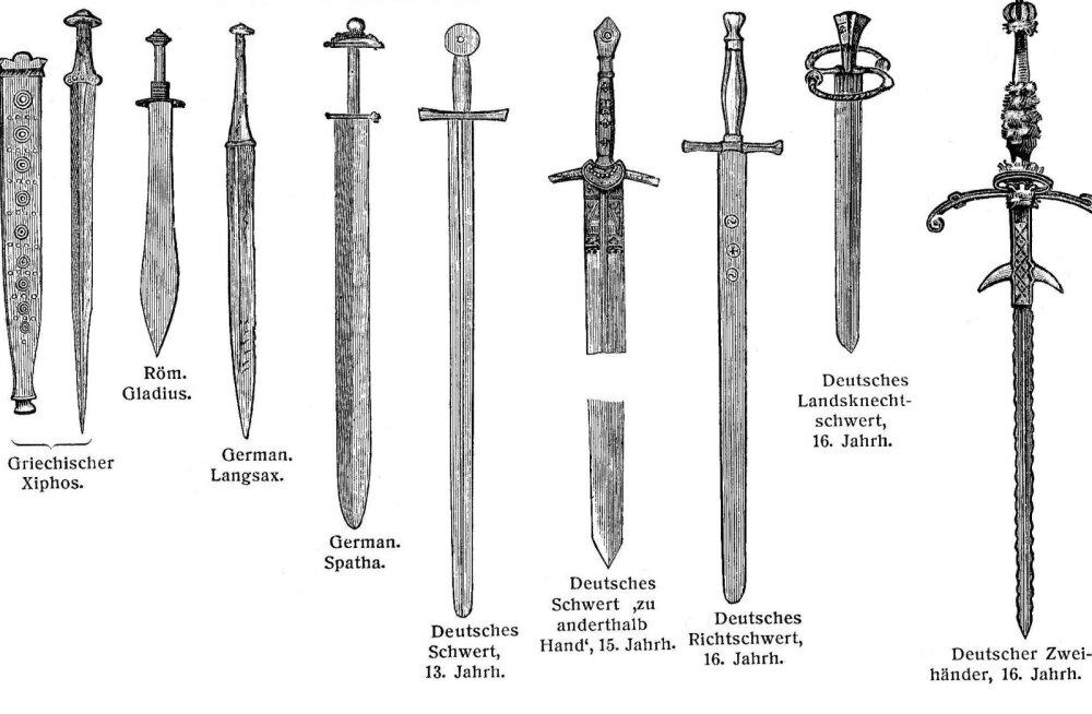 Killukesi ajaloost: raiu ja torka, ehk ülevaade mõõkade arengust