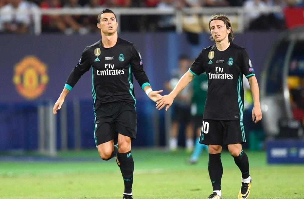 Cristiano Ronaldo ja Luka Modric