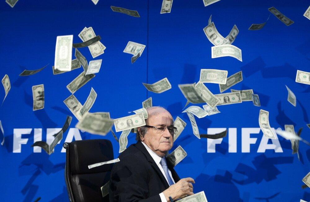 Nahaalsuse tipp! Blatter ja Co maksid endale 70 miljonit eurot preemiat