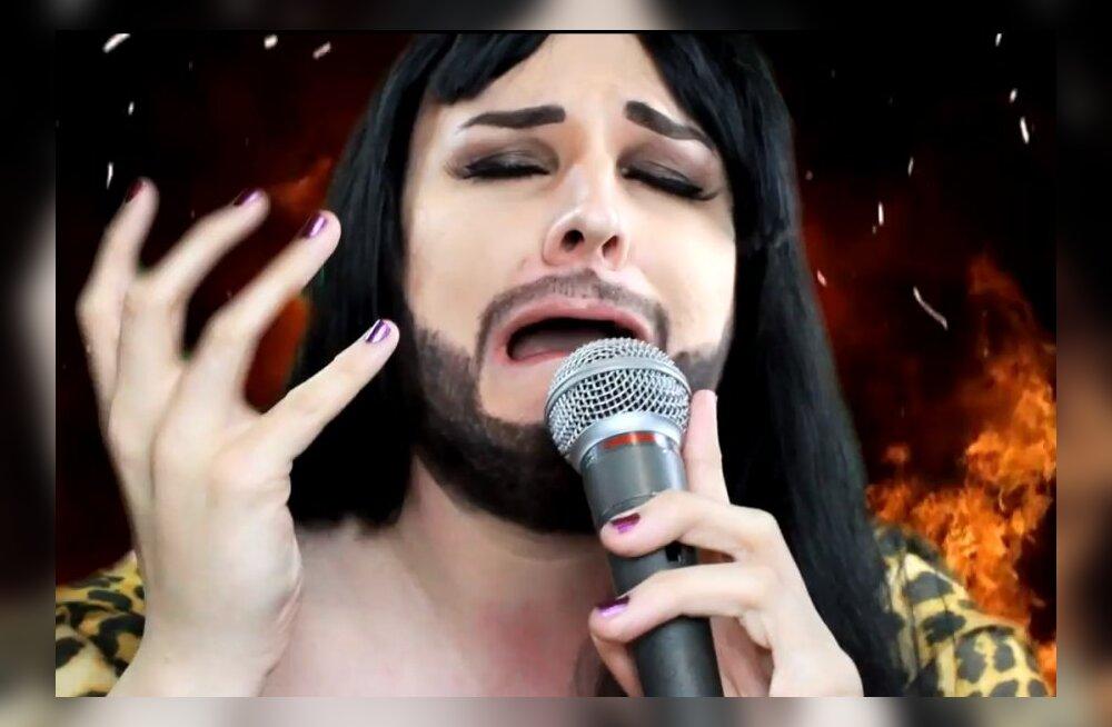 TOP 5: Habemega naised ja tuhast tõusvad peenised! Vaata parimaid Conchita Wursti paroodiaid