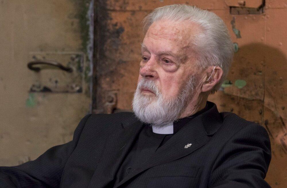 Philippe Jourdani pidulik vastuvõii isa Vello Salo 90. sünnipäev