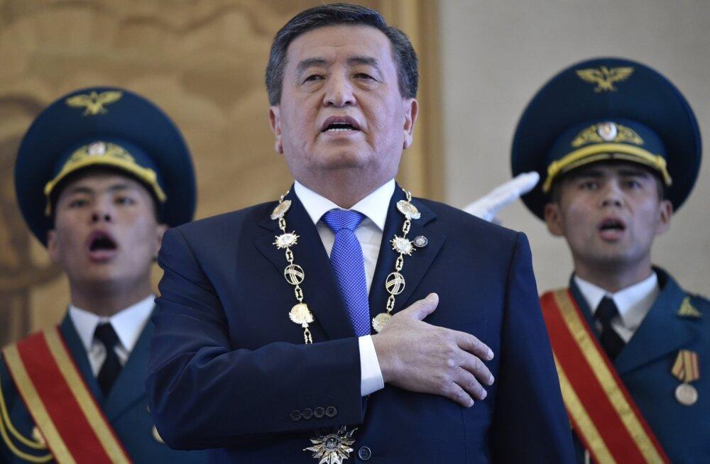 Новый президент Киргизии Сооронбай Жээнбеков — кто он?