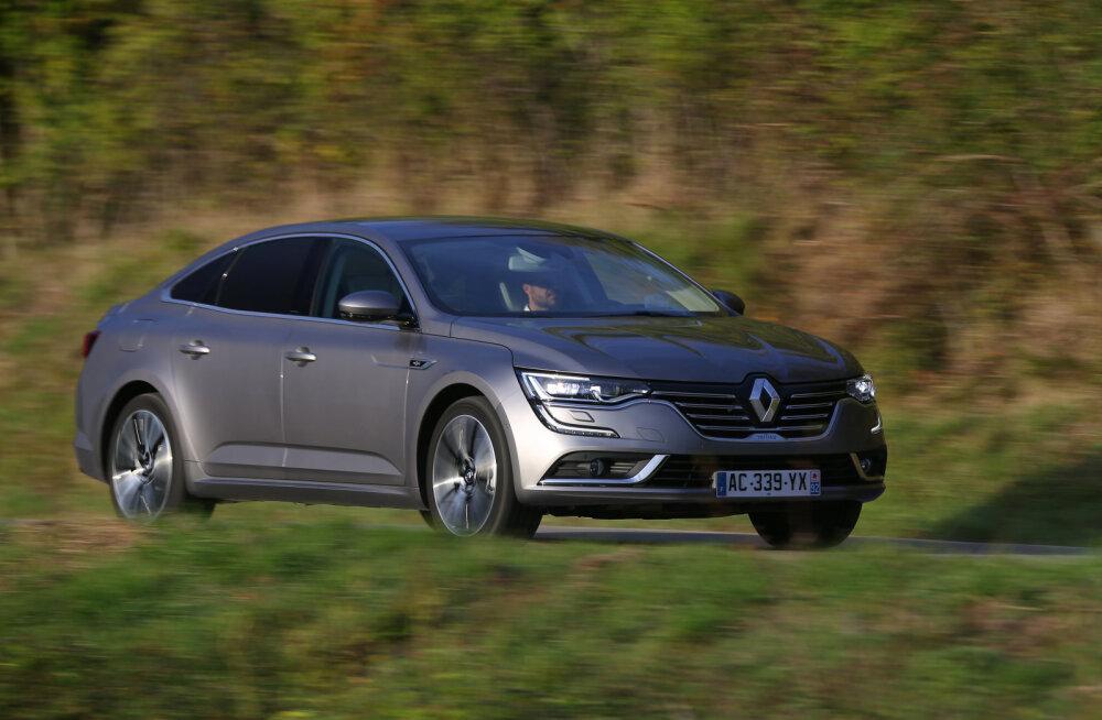 Toomas Vabamäe proovisõit: Renault Talisman – ruumikas ja elegantne, aga...