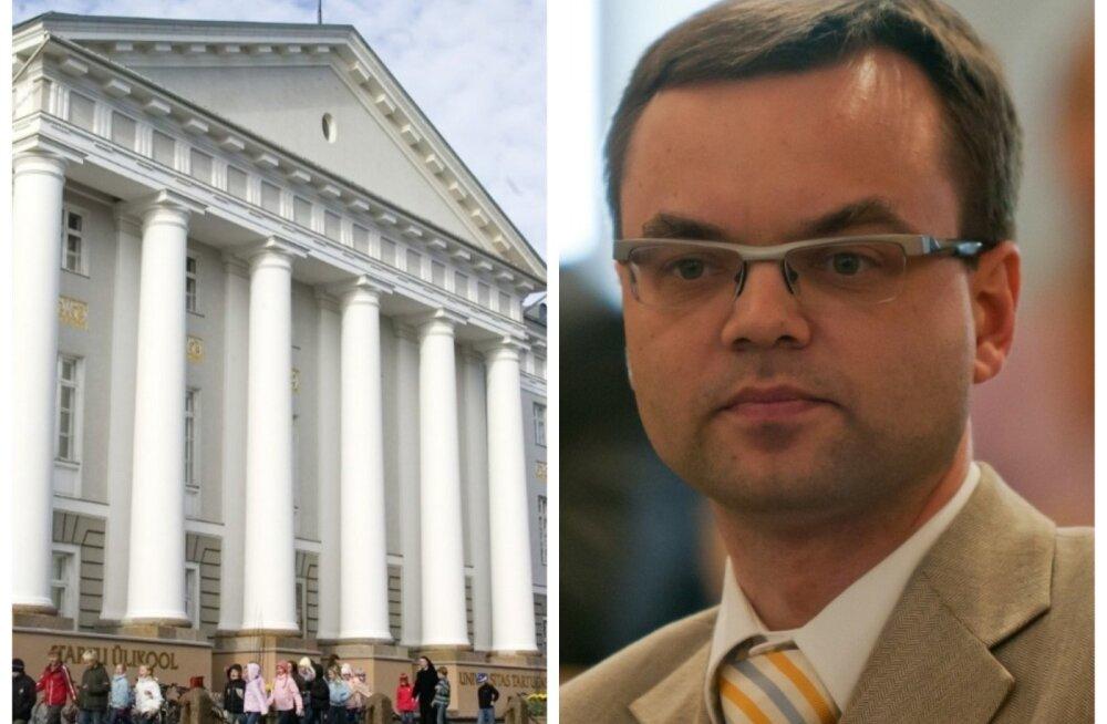 Tartu Ülikool: jääme töövaidluskomisjoniga eriarvamusele Halliku vaidluse sisuks olnud sündmustele antud hinnangus