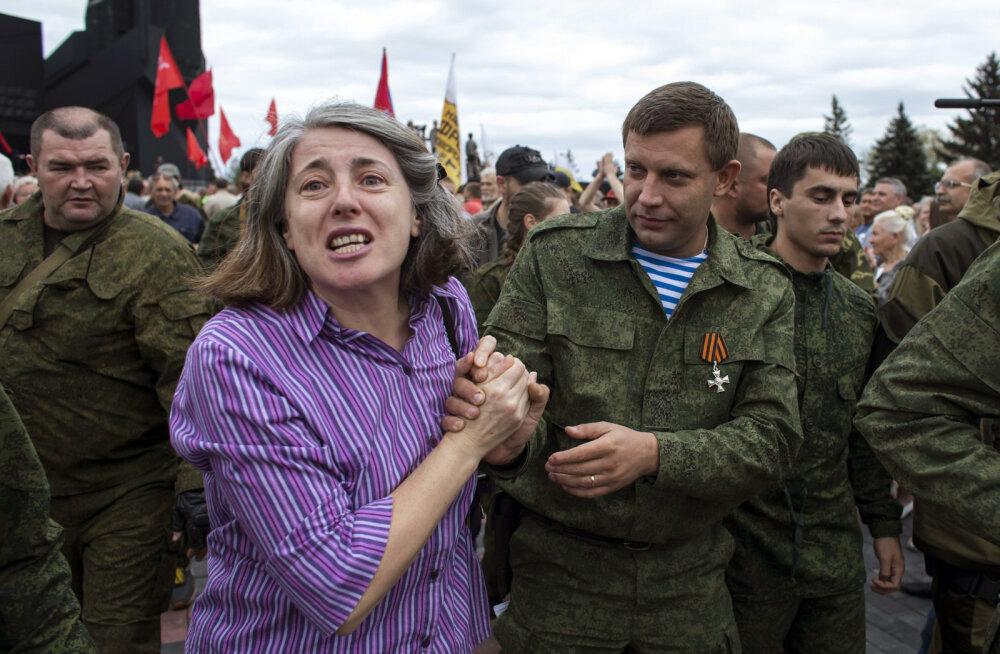 Venemaa: Zahhartšenko tapmise taga oli Ukraina riik