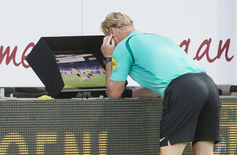 UEFA plaanib juba sel hooajal videokohtunikud Meistrite liigasse tuua