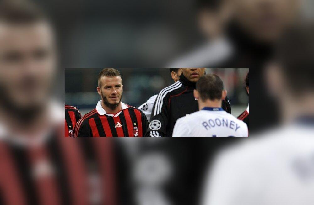 David Beckham ja Wayne Rooney