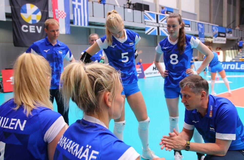 Eesti-Kreeka naiste võrkpall, Tartu, juuni 2019