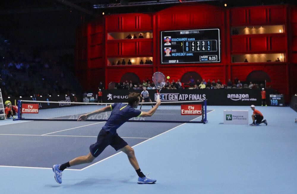 Tennisistid saavad nüüd samuti VAR-i nõuda