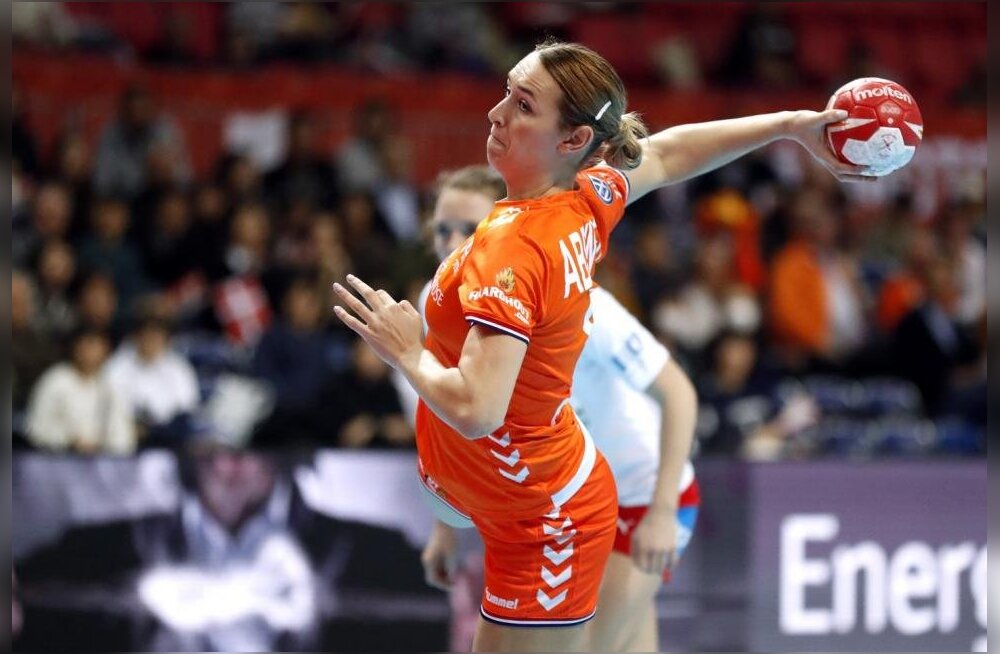 Janeli Patrail usub, et poolfinaalis võimsa mängu teinud Hollandi koondise vasaksisemine Lois Abbingh veab naiskonna finaalis kullale