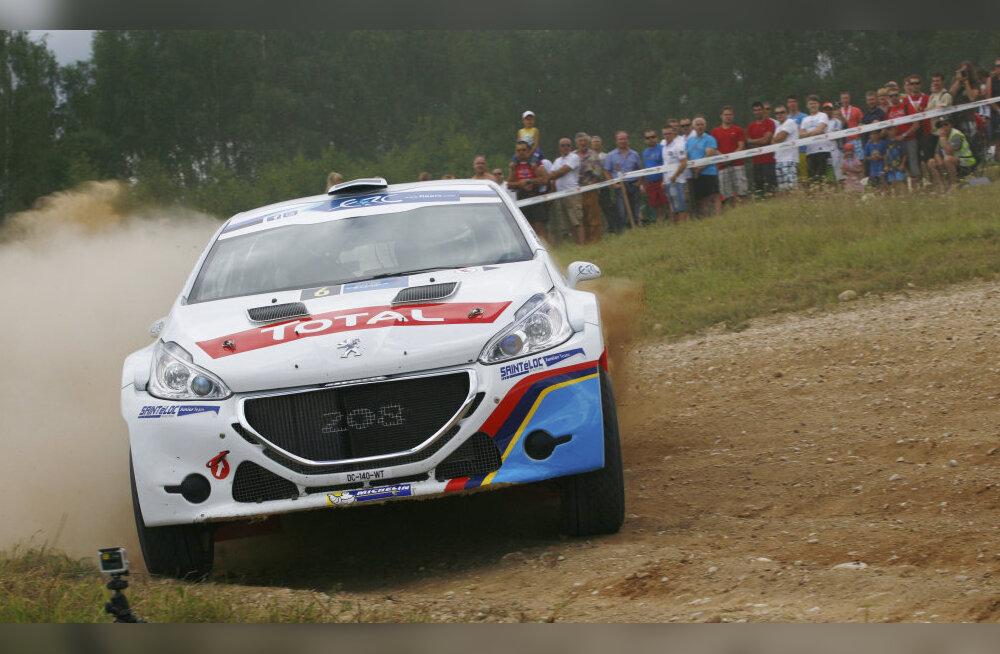 Timmu Kõrge stardib Rally Estonial Peugeot 208 R5 autoga