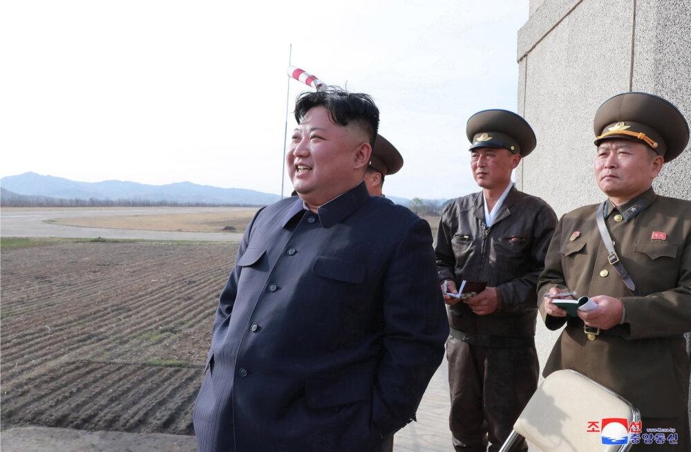 Põhja-Korea teatas uue taktikalise juhitava relva katsetamisest