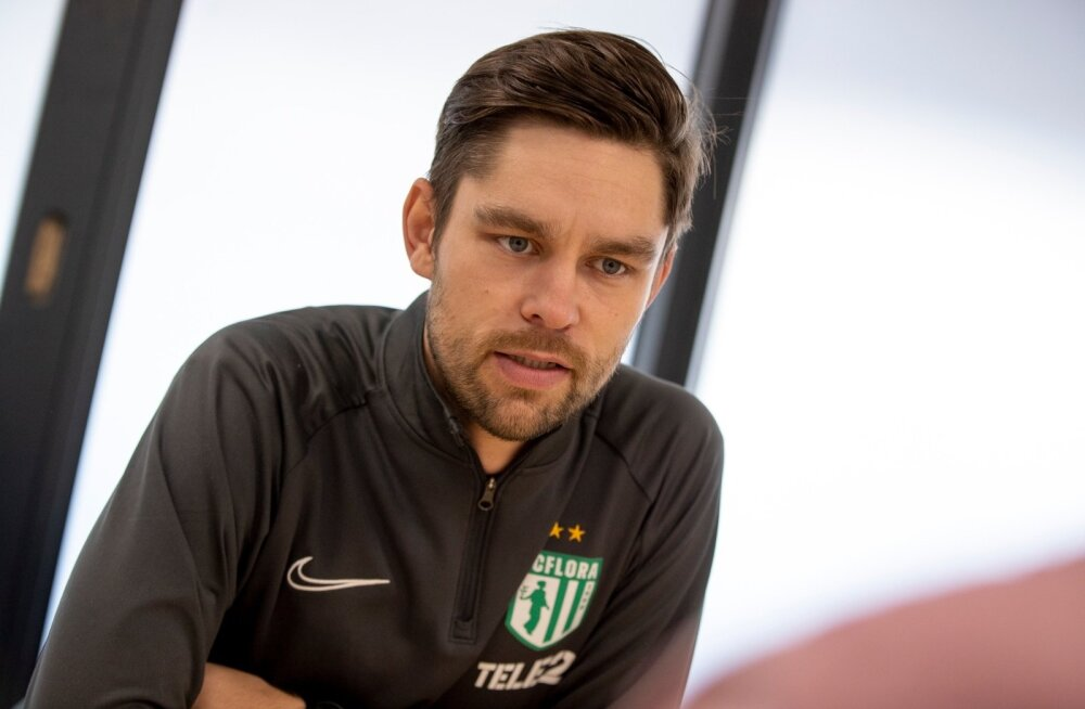 Jürgen Henn viis teisel peatreeneriaastal Flora Eesti meistriks.