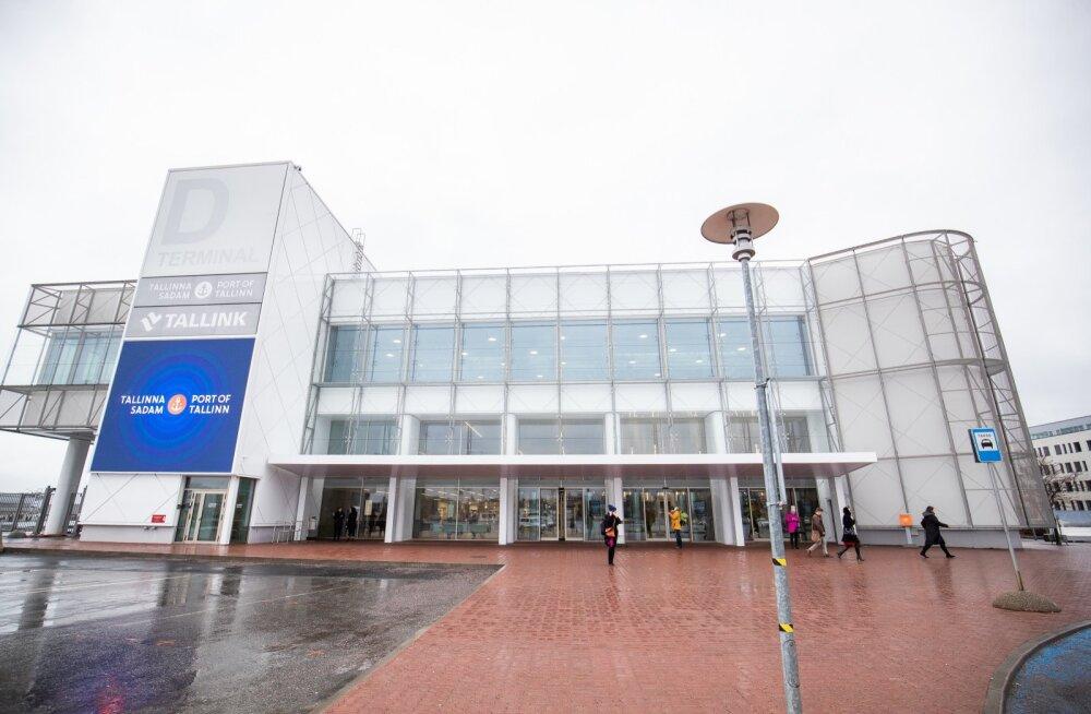 Tallinna Sadama reisijate arv kahanes teises kvartalis üle 80 protsendi, kaubamaht kasvas