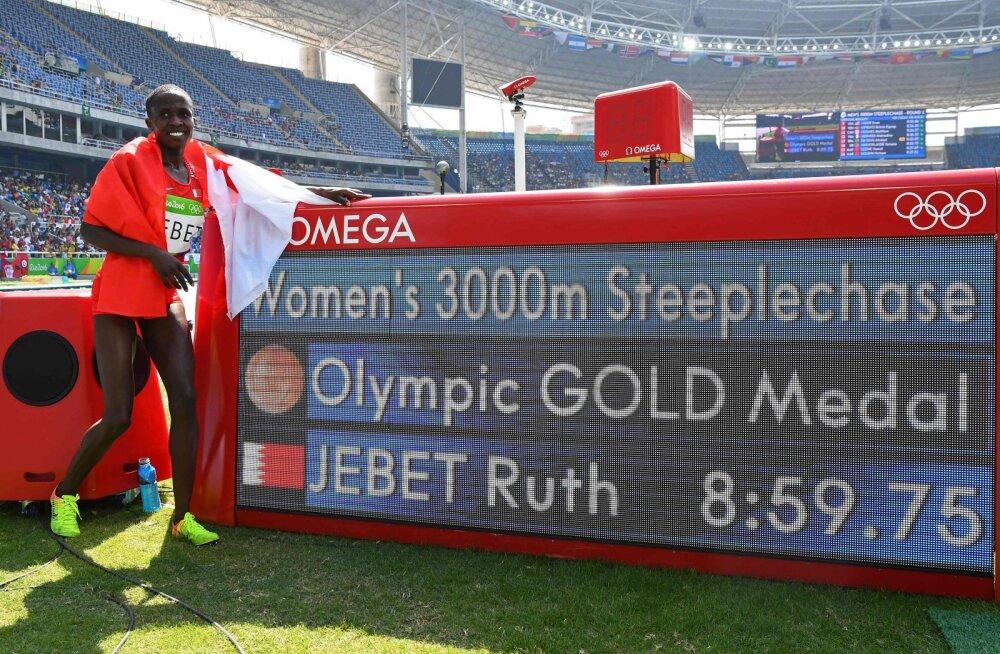 Dopingupatusest endist maailmarekordi omanikku ja olümpiavõitjat karistati pika võistluskeeluga