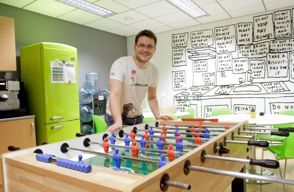 ZeroTurnaroundi asutaja Jevgeni Kabanov kinnitab, et meeskond tuleb hoida värske ja motiveerituna.