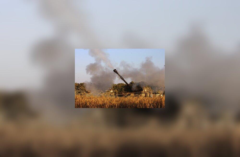 Iisraeli kahurid Gazas