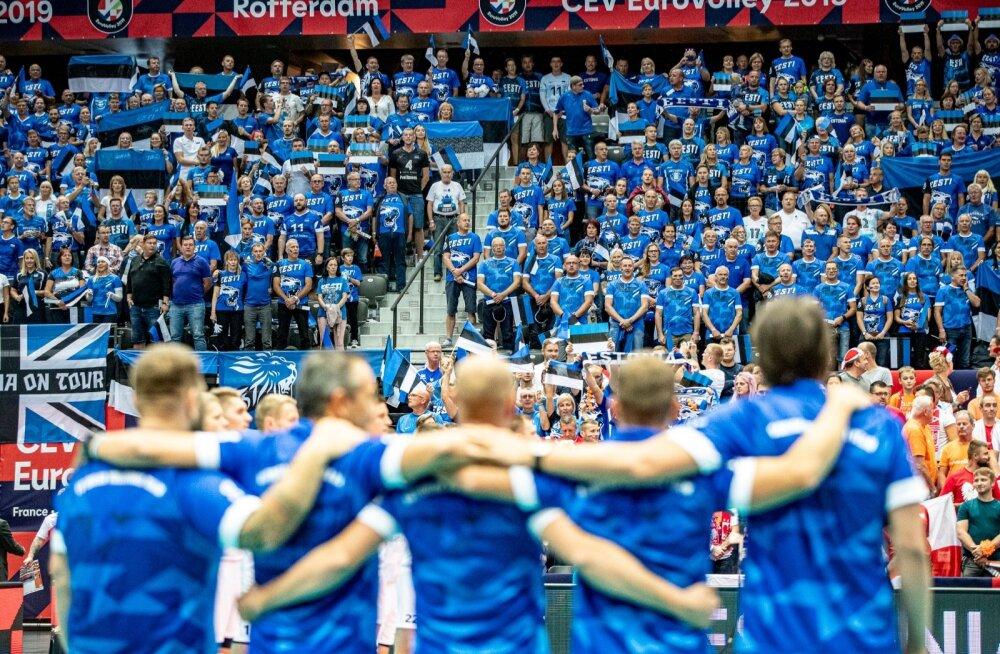Võrkpalli EM Eesti vs Poola 13.09.2019
