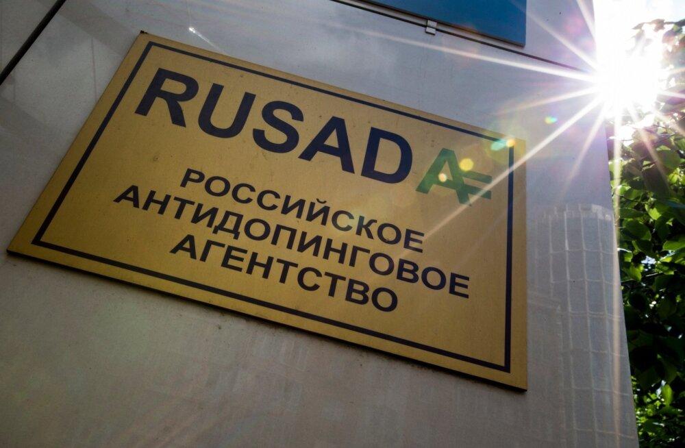 Venemaa dopinguvastase agentuuri WADA liikmelisus peatati 2015. aasta novembris.