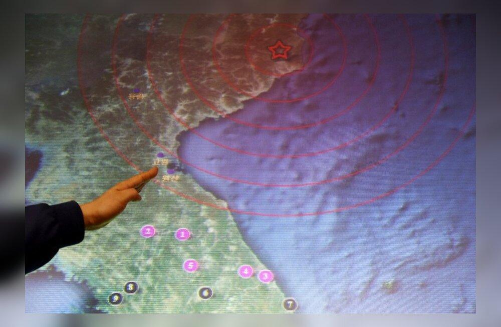 Põhja-Korea plaanib uut tuumakatsetust