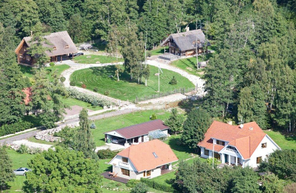 3 Lahemaa rahvuspargis leiab nii traditsioonidest lähtuvat kui ka moodsat arhitektuuri.