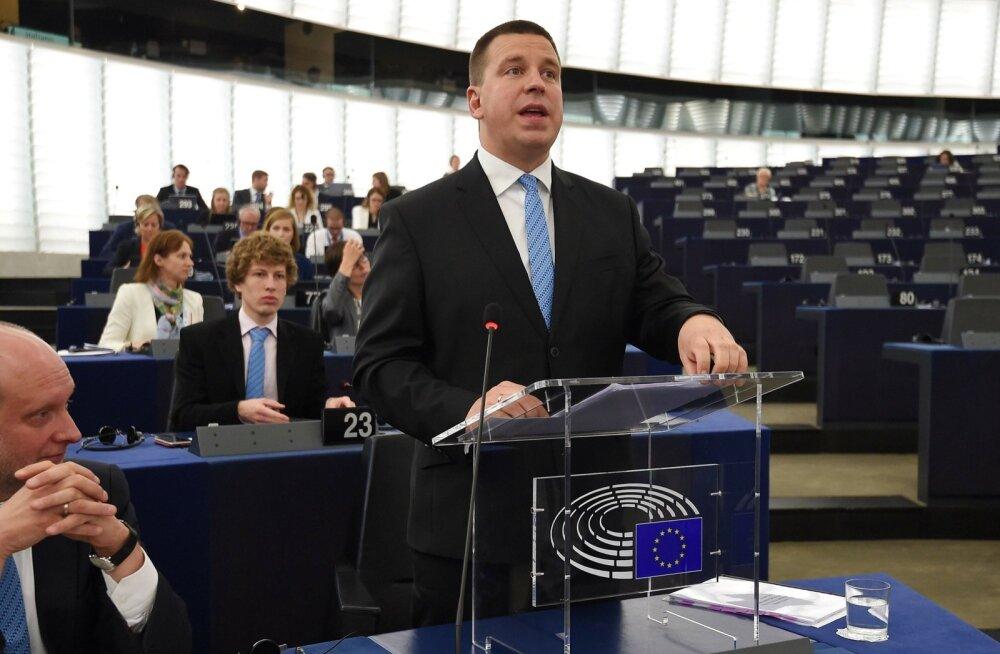 BLOGI | Peaminister Ratas arutas Euroopa Parlamendi liikmetega Euroopa tulevikku