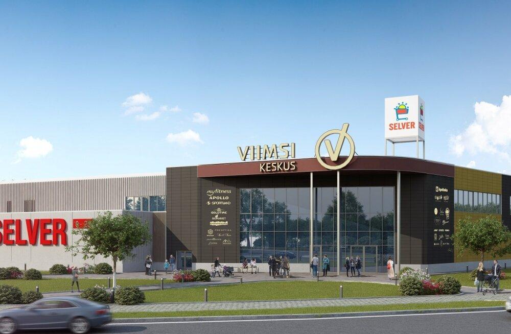 В четверг открывается торговый центр Viimsi Keskus