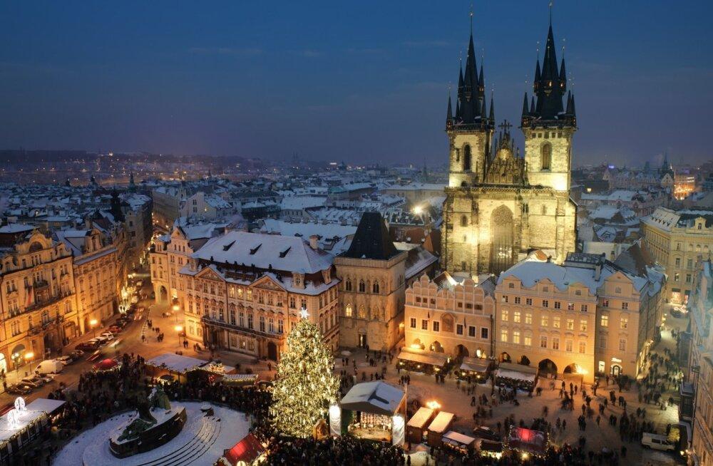 Praha jõuluajal