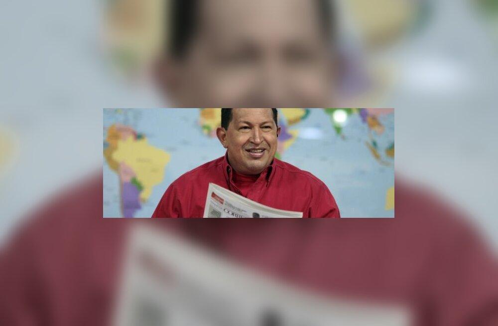 Vene relvatarned Chávezile tegid USA murelikuks
