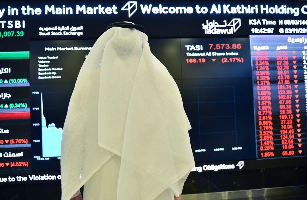 Väikeinvestorid saavad osta ülivähe Saudi naftagigandi aktsiaid