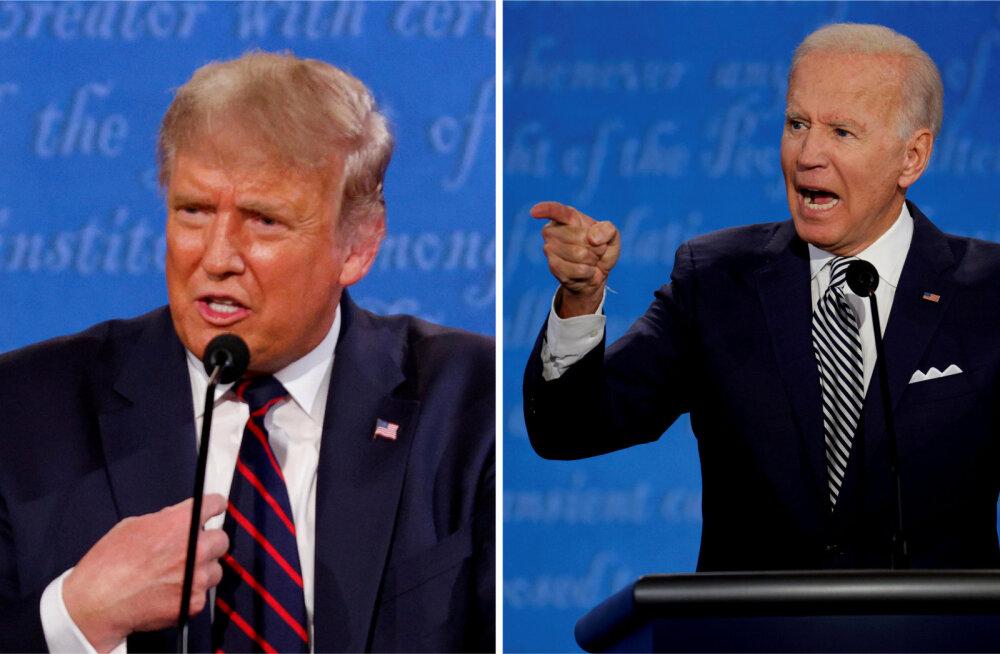 Trump teatas, et ei kavatse virtuaalseks muudetud valimisdebatile oma aega raisata