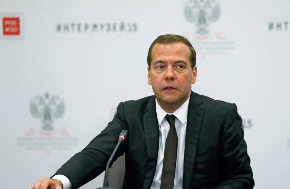 Medvedev: Venemaa ei muutu nende riikide sarnaseks, kes takistavad meedia tööd