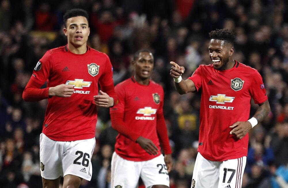 Euroopa Liiga: Manchester United küttis sauna, mullune Meistrite Liiga poolfinalist langes konkurentsist