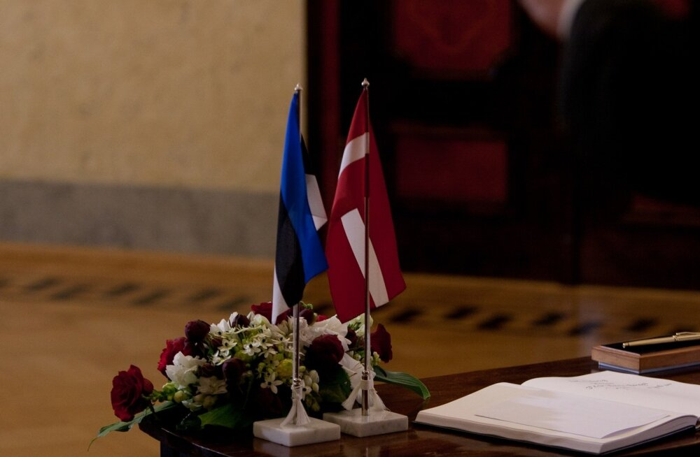 Läti president Andris Bērzinš Eestis