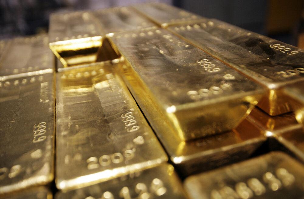 Riigikassa jaoks kõigub kulla hind liiga palju
