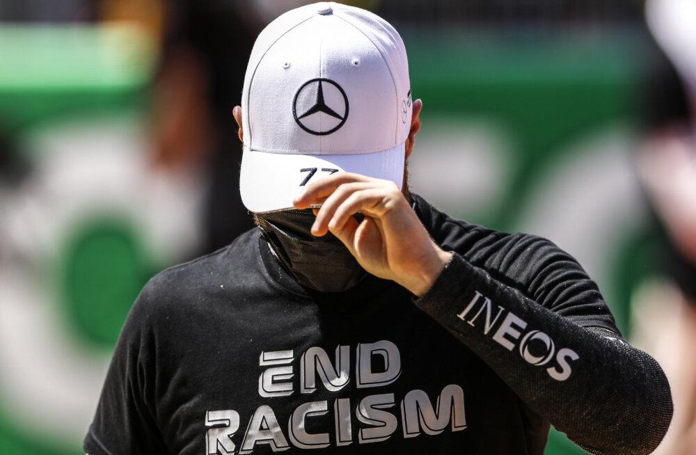 Rassismi vastu võitlemise nimel mustaks värvitud kombinesoon tekitab Soome vormelitähele probleeme