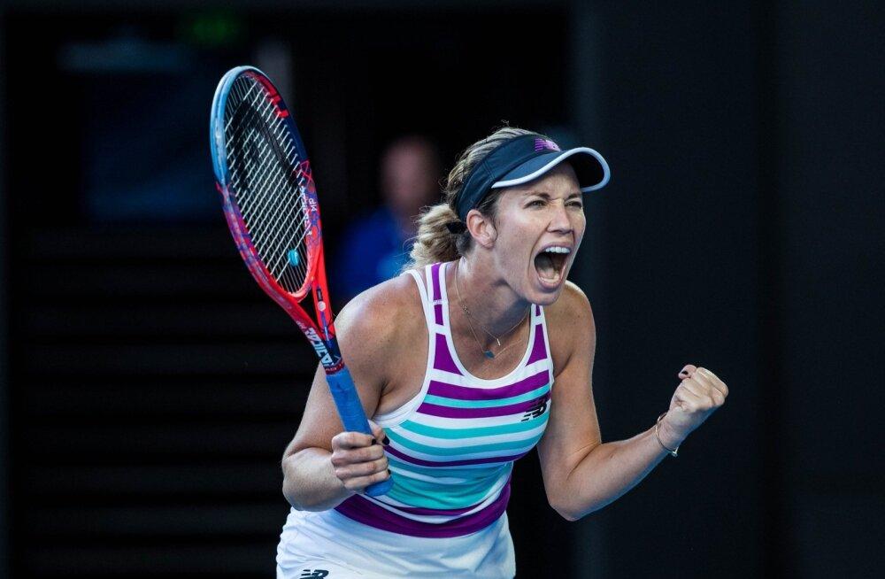 Esimest korda Australian Openi põhitabelisse pääsenud Danielle Collins mängib homme poolfinaalis.