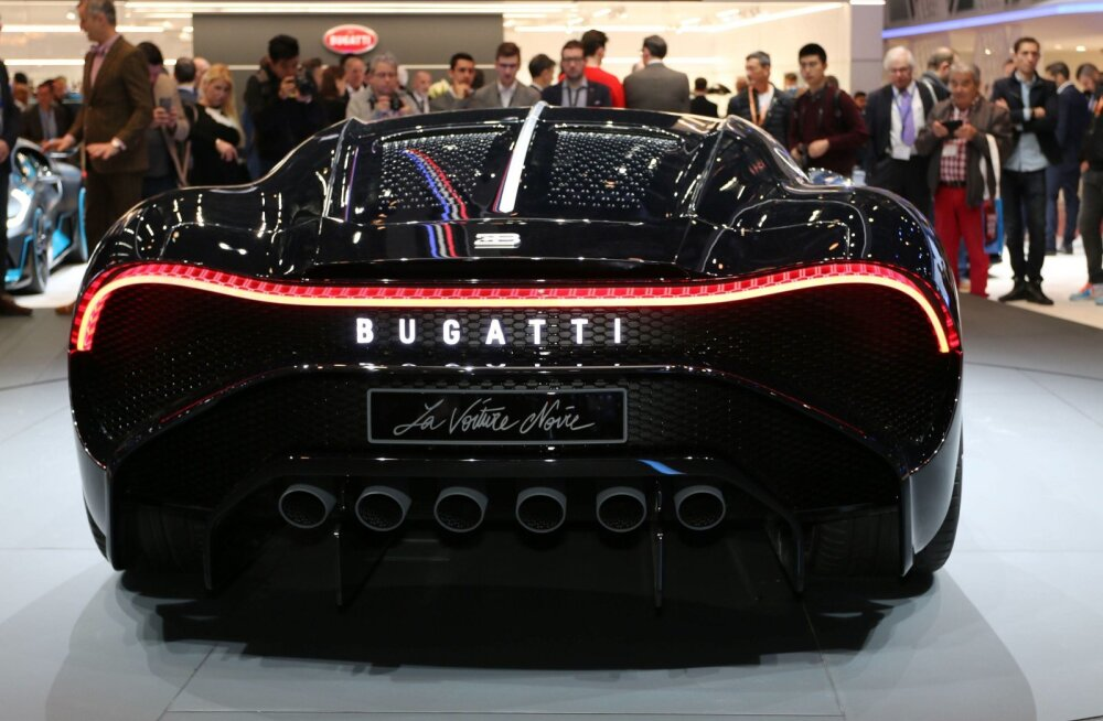 Bugatti Voiture Noire Genfis.