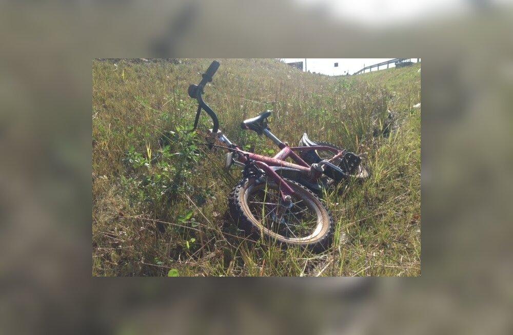 Leitud jalgratas