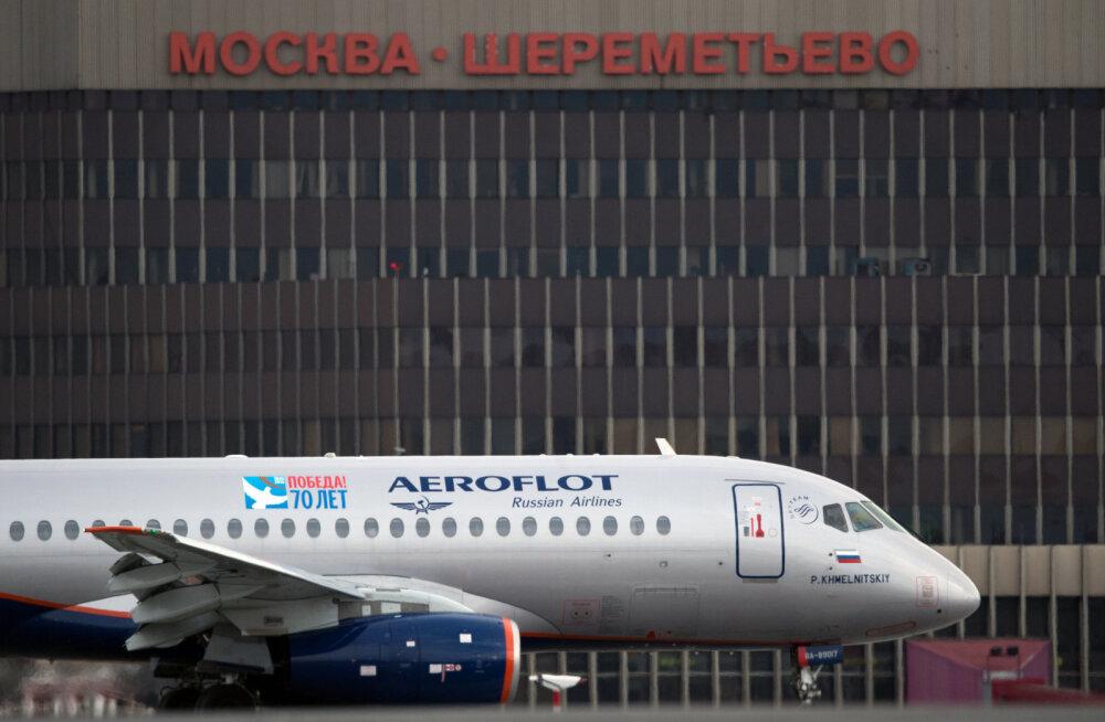 Aeroflot on viimastel päevadel tühistanud suure hulga lende Suhhoi Superjet 100-ga