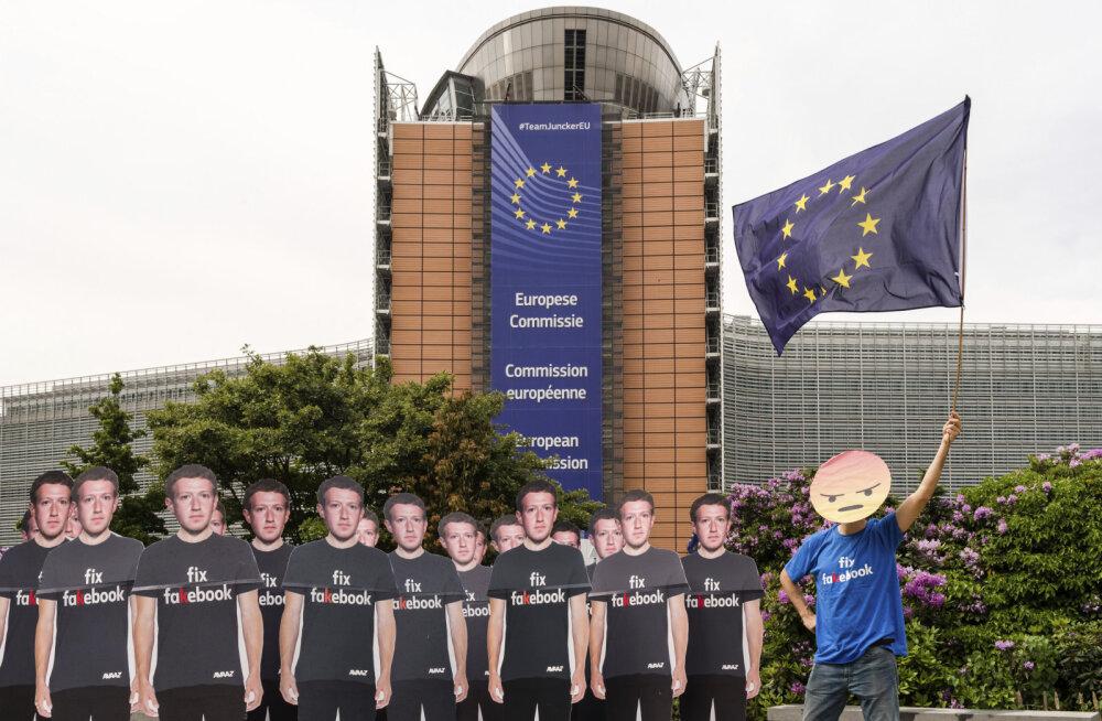 Mark Zuckerberg palus europarlamendi ees vabandust, kuid jättis põletavaimatele küsimustele vastamata. Eurosaadikud ei jäänud rahule
