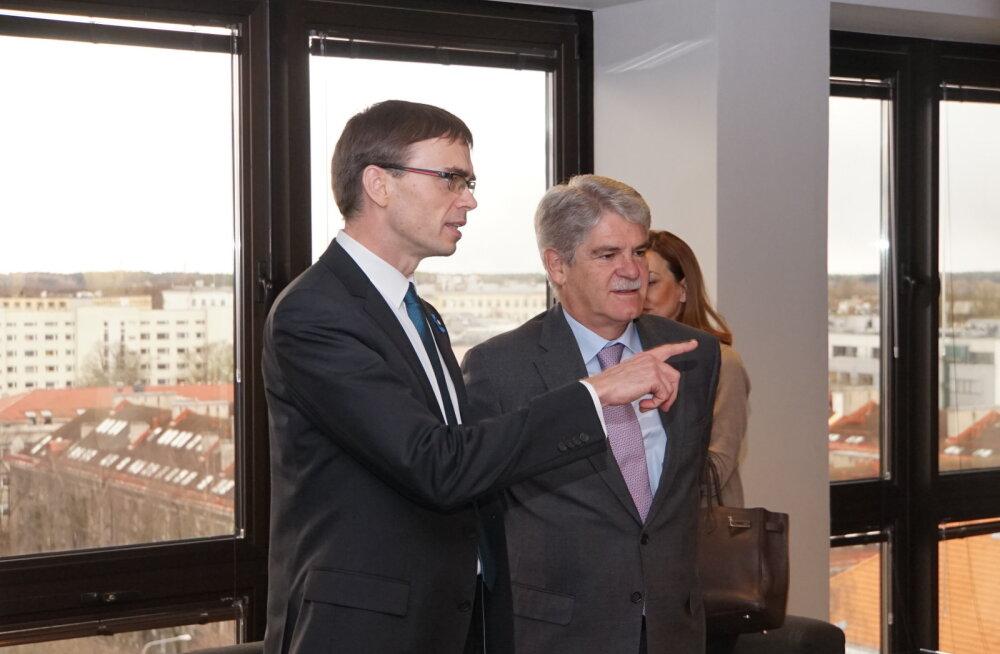 Eesti ja Hispaania välisminister rõhutasid kohtumisel Tallinnas ELi ühtsuse olulisust
