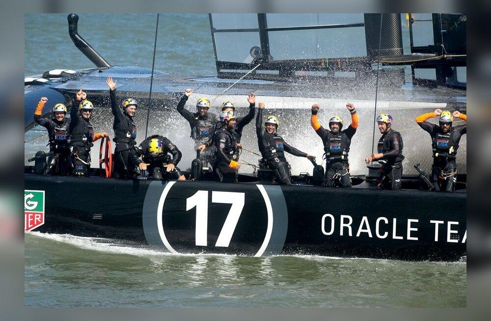 Oracle Team USA, purjetamine