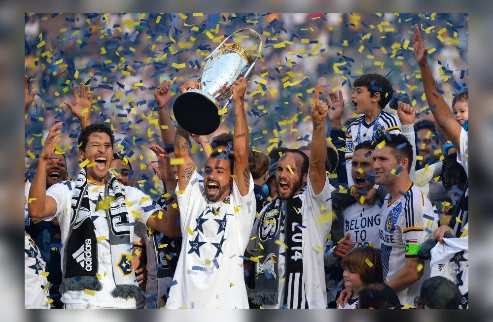 LA Galaxy võitis rekordilise MLS-i tiitli