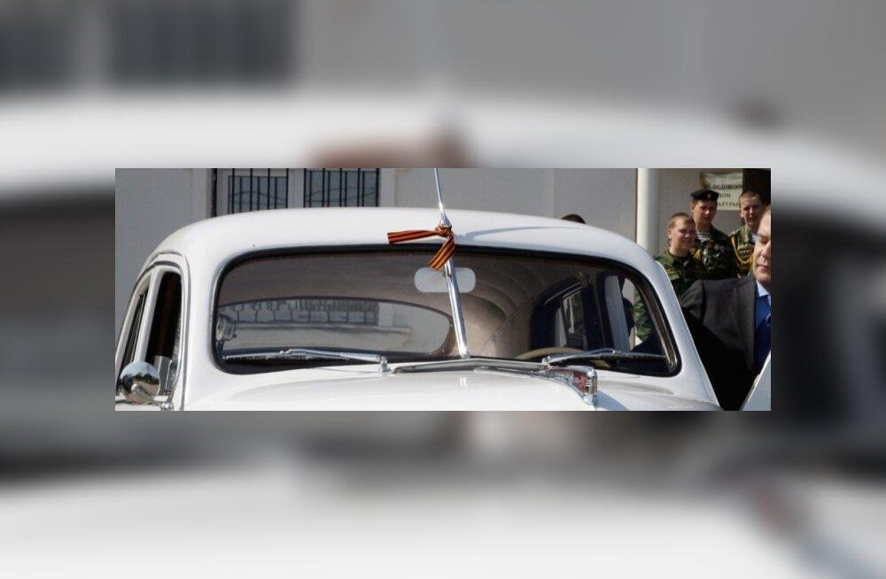 Vene leht: Soome piirivalve käsib Vene turistide autodelt Georgi lindid eemaldada