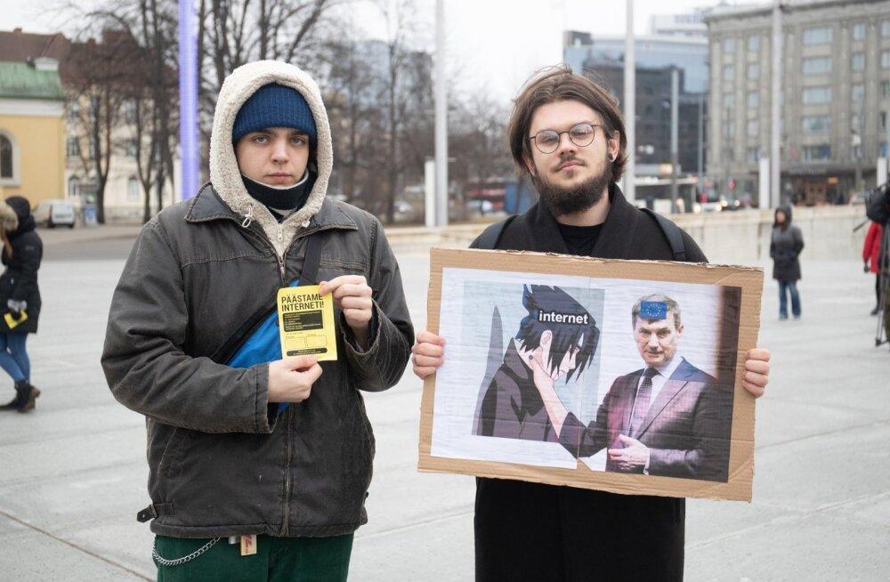 Internetiaktivistide meeleavaldus